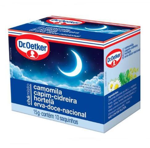 Imagem de Cha misto doces sonhos caixa com 10 saches 15g dr oetker