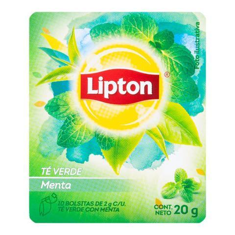 Imagem de Chá Verde de Hortelã com Menta Lipton 10g