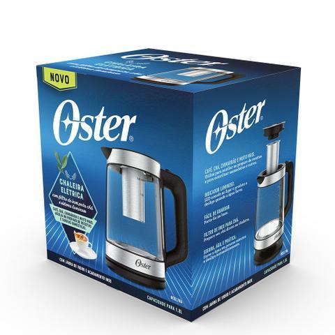 Imagem de Chaleira Elétrica Oster Tea com Infusor de Chá 1,8L