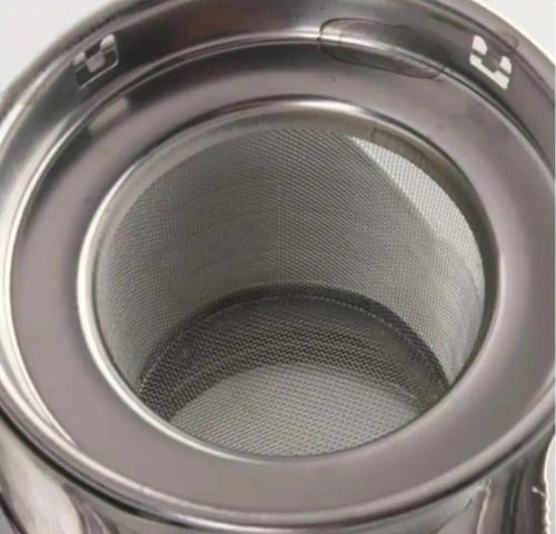 Imagem de Chaleira Inox De Vidro Com Infusor Bule Coador Chá 750ml