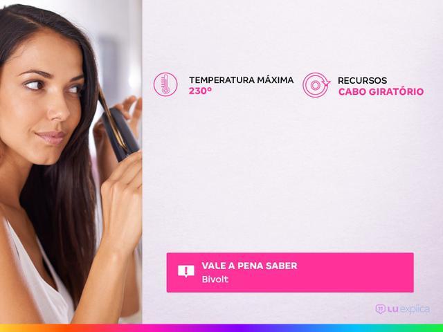 Imagem de Chapinha/Prancha de Cabelo Profissional Mondial