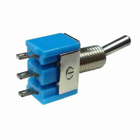 Imagem de Chave Comutadora Mini ON/OFF/ON - 3 Terminais 250V - DNI 2092