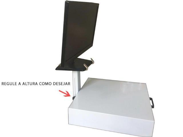 Imagem de Checkout Metálico Innal Com Kit Para Automação Branco - 1,80 Mt