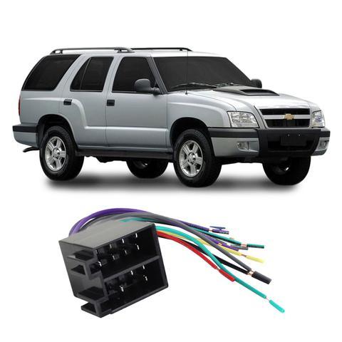 Imagem de Chicote Chevrolet Blazer 1995 a 2011 Adaptador Rádio DVD CD Multimídia