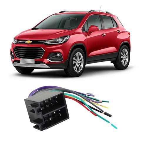 Imagem de Chicote Chevrolet Tracker 2018 a 2020 Adaptador Rádio DVD CD Multimídia