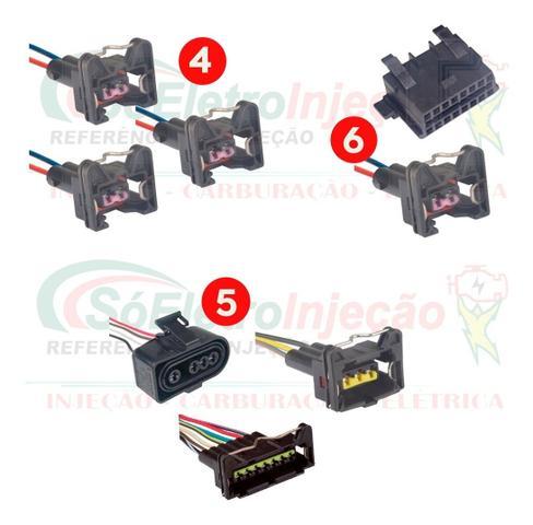 Imagem de Chicote Completo Injeção Eletrônica Kombi 01/06 C/ Code
