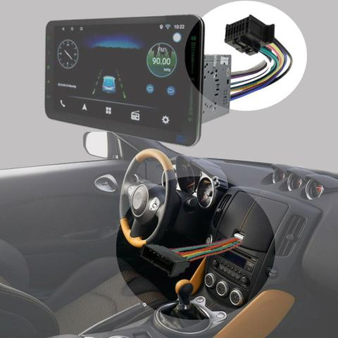 Imagem de Chicote Hyundai HB20s 2012 a 2020 Adaptador Rádio DVD CD Multimídia