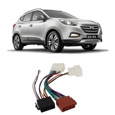 Imagem de Chicote Hyundai Sonata 2011 a 2014 Adaptador Rádio DVD CD Multimídia