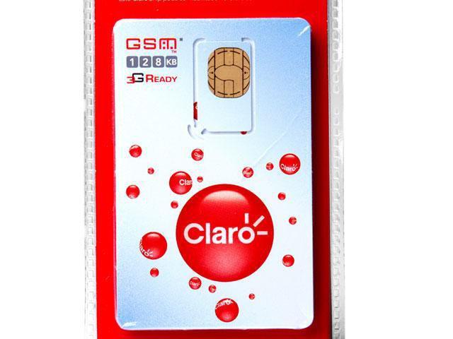 Imagem de Chip Claro 3G Pré-Pago