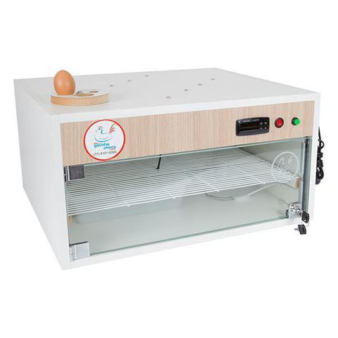 Imagem de Chocadeira ALTA ECLOSÃO Automática com 4 ventiladores Bivolt PID 120 ovos (GC120PID)