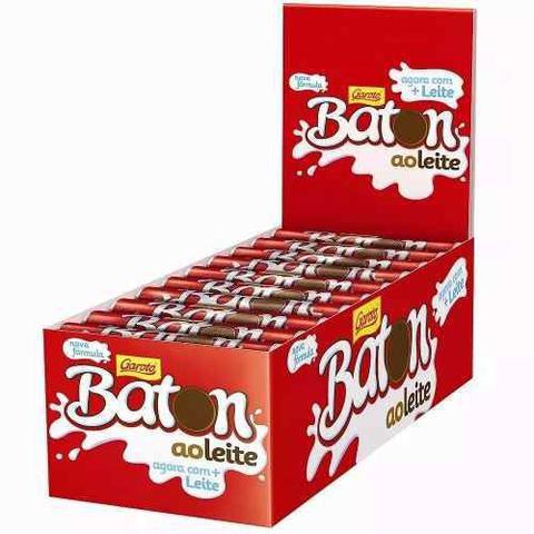 Imagem de Chocolate Baton Ao Leite 16gr C/30un - Garoto