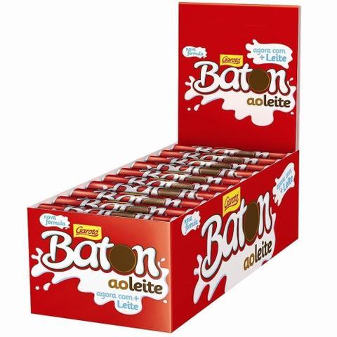 Imagem de Chocolate Baton ao Leite - 30 unidades - Garoto