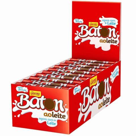 Imagem de Chocolate Baton ao Leite Garoto c/30