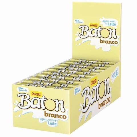 Imagem de Chocolate Baton Branco 16g  - 30 unidades - Garoto