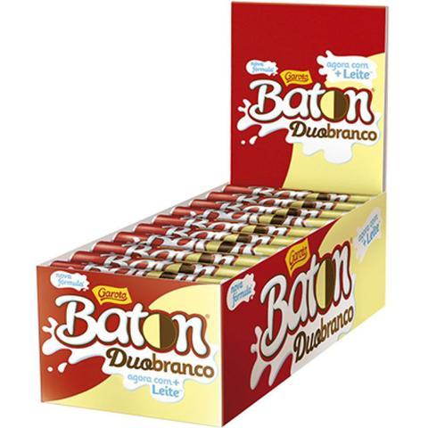Imagem de Chocolate Baton Duo c/30 - Garoto
