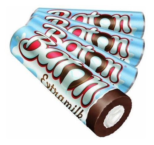 Imagem de Chocolate Baton Extra Milk Caixa Com 30 Unidades 16g Cada