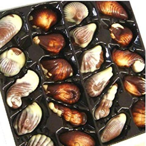 Imagem de Chocolate belga guylian - bombons frutos do mar aimée (250g)