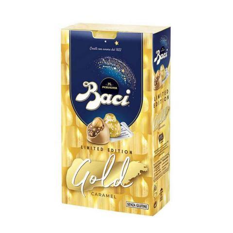 Imagem de Chocolate com Avelã e Caramelo Gold Caramel Baci 150g - Perugina