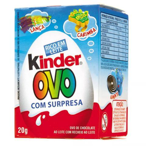 Imagem de Chocolate Kinder Ovo Meninos 20Gr - Ferrero