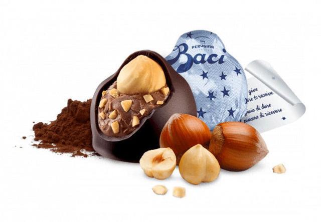 Imagem de Chocolate nestlé perugina baci - clássico original dark bijou 200g