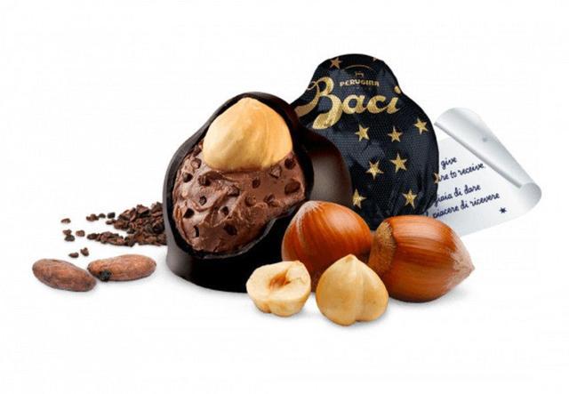Imagem de Chocolate nestlé perugina baci - extra dark 70% bijou 175g