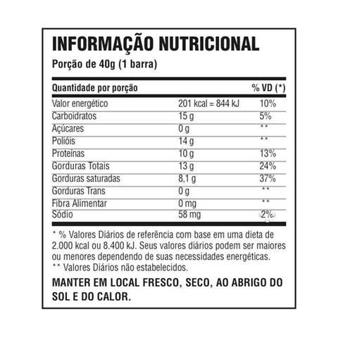 40d3ab495 CHOKO CRUNCH PROTEIN 12UN 40g - CHOCOLATE MEIO AMARGO - Probiótica ...
