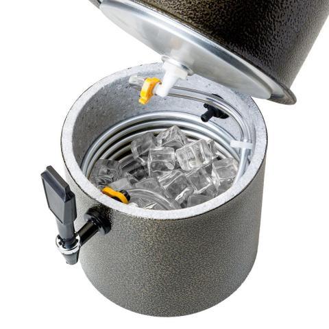 Imagem de Chopeira 7 Litros com Conector para Barril Chopp Ouro Velho