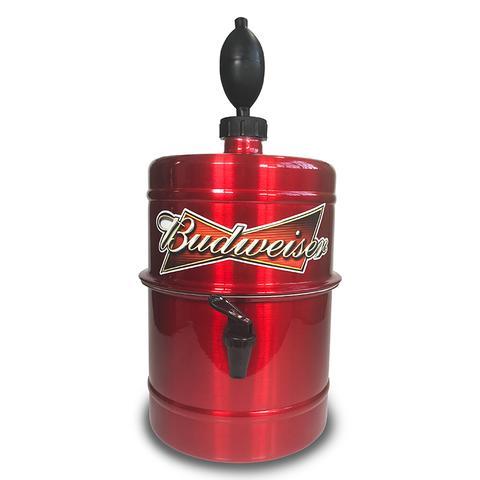 Imagem de Chopeira Portátil a Gelo 5,1 Litros Beer Chopp Budweiser
