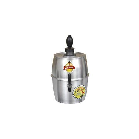 Imagem de Chopeira Prata Beer House 5.6 Litros com Conector para Barril