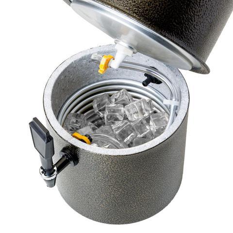 Imagem de Chopeira Prata King Beer 10 Litros com Conector para Barril