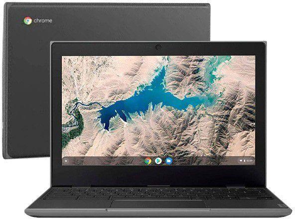 "Notebook - Lenovo 81ma001bbr Celeron N4020 2.80ghz 4gb 32gb Ssd Intel Hd Graphics 600 Google Chrome os Thinkpad 100e 11,6"" Polegadas"