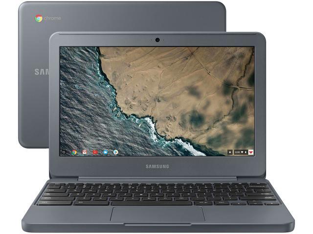 """Notebook - Samsung Xe501c13-ad1br Celeron N3060 1.60ghz 2gb 16gb Padrão Intel Hd Graphics 400 Google Chrome os Chromebook 3 11,6"""" Polegadas"""