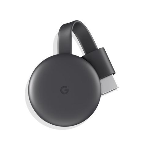 Imagem de Chromecast 3 Google para TVs com Porta HDMI Conexão Wifi 1080p Full HD