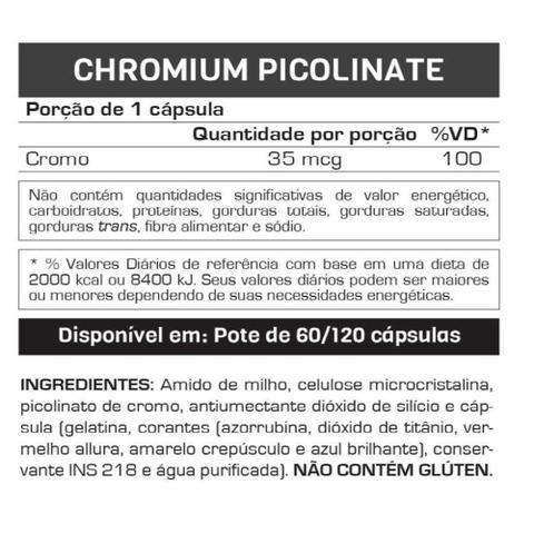 Imagem de Chromium Picolinato 120 Cáps - Max Titanium