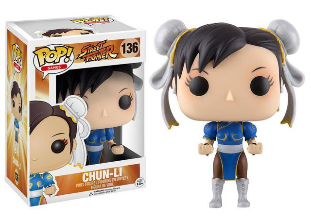 Imagem de Chun Li 136 - Street Fighter - Funko Pop! Games