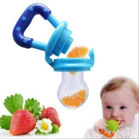 Imagem de Chupeta Alimentadora com Bico de Silicone Babypop BTJP8035 AZUL