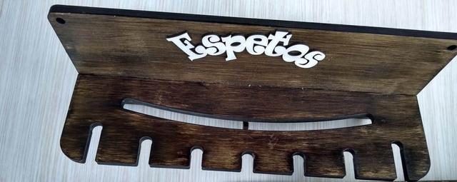 Imagem de churrasco kit com 3 peças em MDF cortado à laser