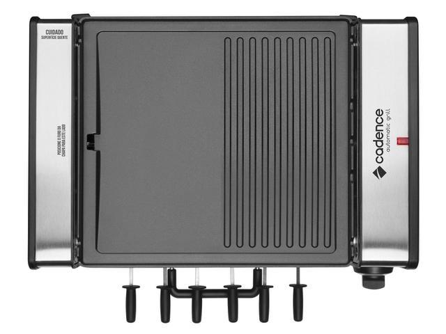 Imagem de Churrasqueira Elétrica Cadence 1200W Inox