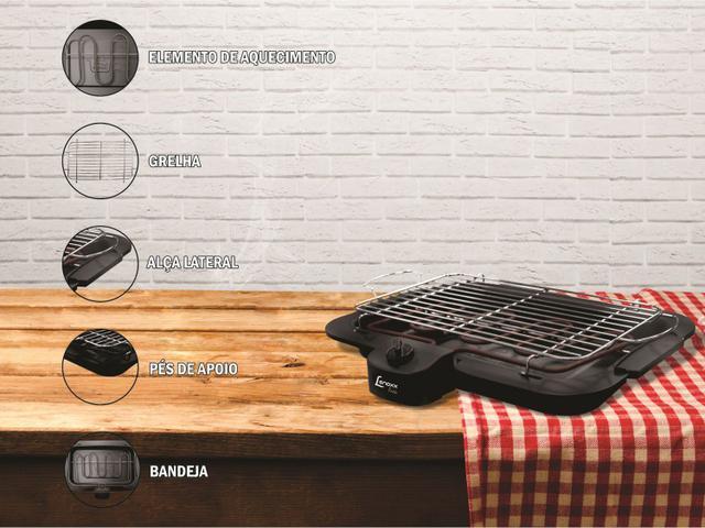 Imagem de Churrasqueira Elétrica Lenoxx 1800W