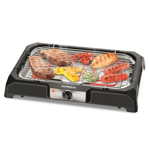 Imagem de Churrasqueira Elétrica Mondial Steak 2000W com Controle de Temperatura