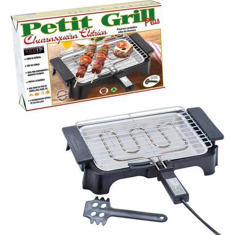 Imagem de Churrasqueira Eletrica Petit Grill Plus 497 PT 110V Heynox