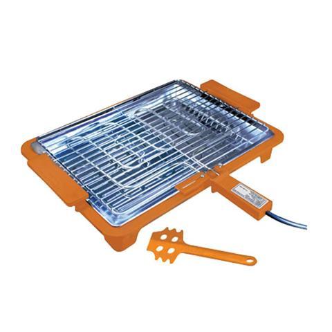 Churrasqueira Anurb Elétrica Platinum Grill Laranja 220v