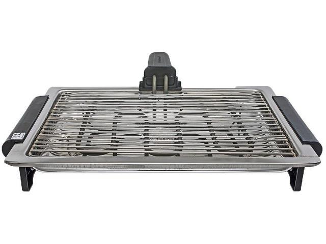 Imagem de Churrasqueira Elétrica Recursos Inox 1250W Cotherm