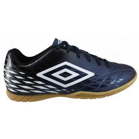 27ae579f9a Chuteira Futsal Umbro Fifty II Masculino - Azul Preto - Chuteira ...