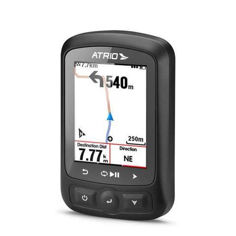 Imagem de Ciclocomputador GPS Atrio Titanium Kit Bundle Autonomia 22h Bluetooth Ant+ Cinta Cardíaca e Sensor de Cadência - BI155