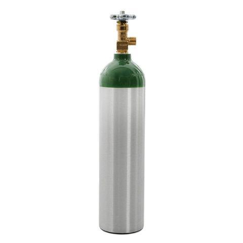 Imagem de Cilindro de Oxigênio Medicinal em Alumínio 3 Litros