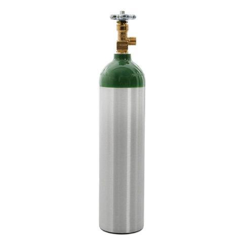 Imagem de Cilindro de Oxigênio Medicinal Portátil em Alumínio 1 Litro