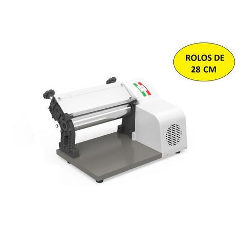 Imagem de Cilindro Laminador de Massas Branco 28cm Cromado PRO 127V