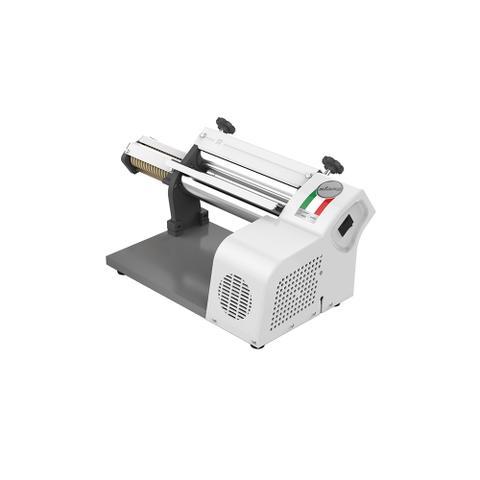 Imagem de Cilindro laminador de massas elétrico branco de 28 cm com cortador 220 Volts - Stang
