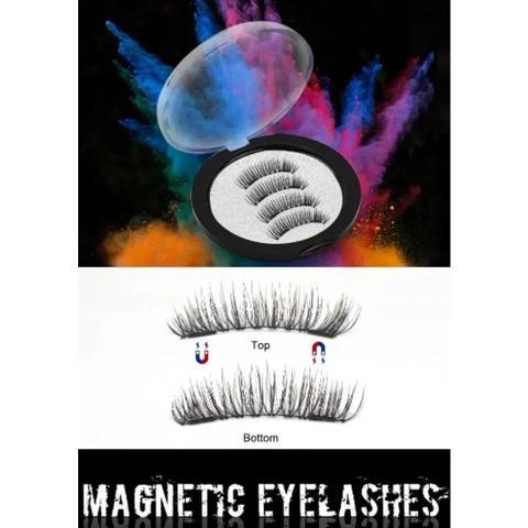 Imagem de Cilios Magneticos Postiços 3d Natural Imã Olho Inteiro